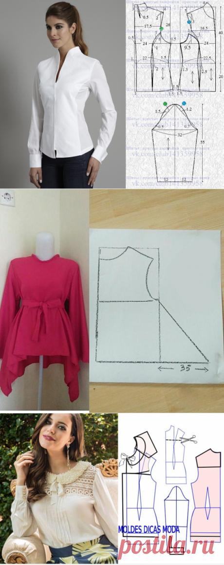 Моделирование блузок — DIYIdeas