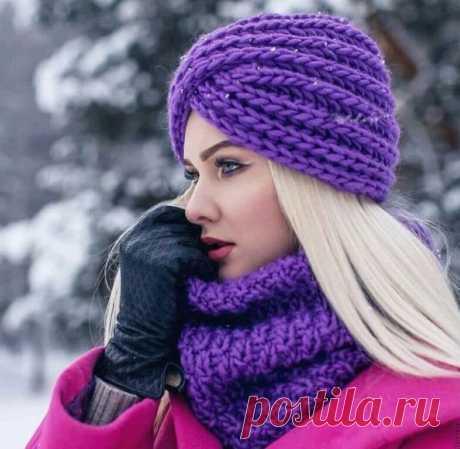 Идеи вязаных шапок на зиму 2020-2021 | Факультет рукоделия | Яндекс Дзен