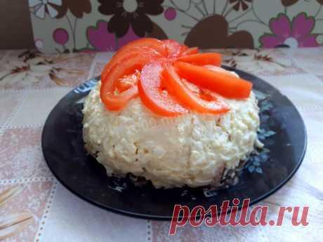 Салат Любимый муж рецепт с фото пошагово - 1000.menu