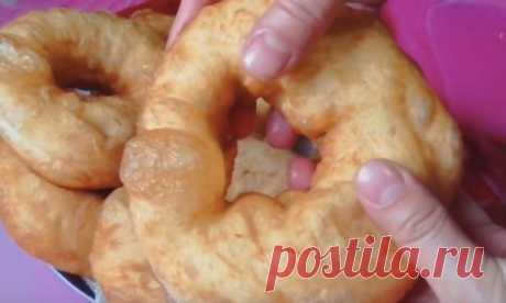 Как сделать самы вкучные пончики на сковороде из воды и муки? Готовим легко и быстро