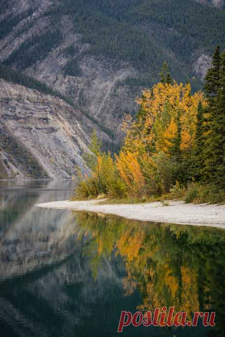 """toofarnorth: """"Lake Reflections from the Alaska Highway """""""