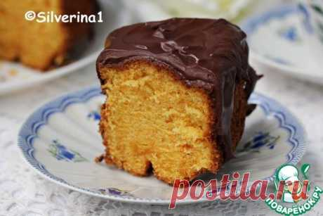 Brazilian carrot cake.