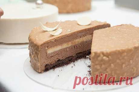 """Муссовый торт """"Кофе-Бейлис"""""""