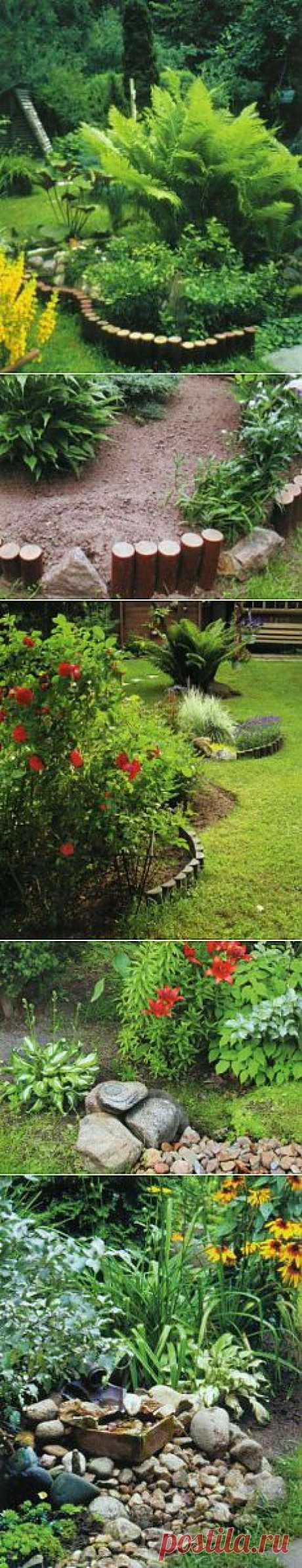 Декоративные заборчики своими руками из цветников и камней | Дача - впрок