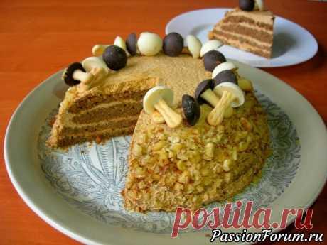 Орехово-кофейный торт / Торт на День рождения! - запись пользователя Светлана Аниканова в сообществе Болталка в категории Кулинария