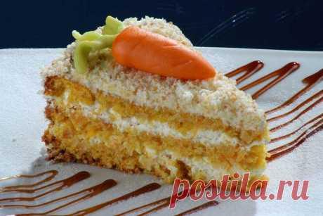 Морковный торт: 12 простых и вкусных рецептов Морковный торт – это сплошная польза и витамины, а еще хитрый способ заставить детей есть ценный овощ. Поэтому делимся с тобой 12 вкусными рецептами морковного торта!