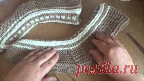 Interesting knitting - Icelandic socks
