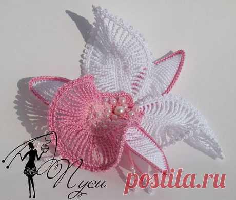 МК цветок орхидея от Пуси - Babyblog.ru