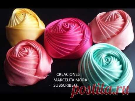 Flor Torbellino Paso a Paso /Dos Lados/Flower Ribbon Easy/DIY/Como fazer flor de fita