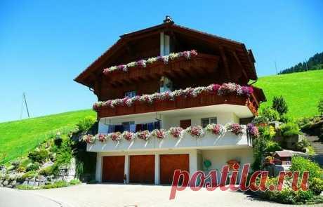 Сказочные домики в Альпах