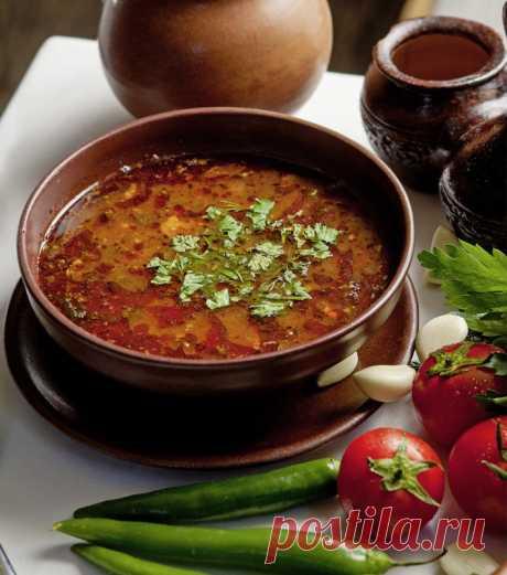 Суп «Харчо» - настоящий грузинский праздник. Рекомендуем всем. - На Кухне