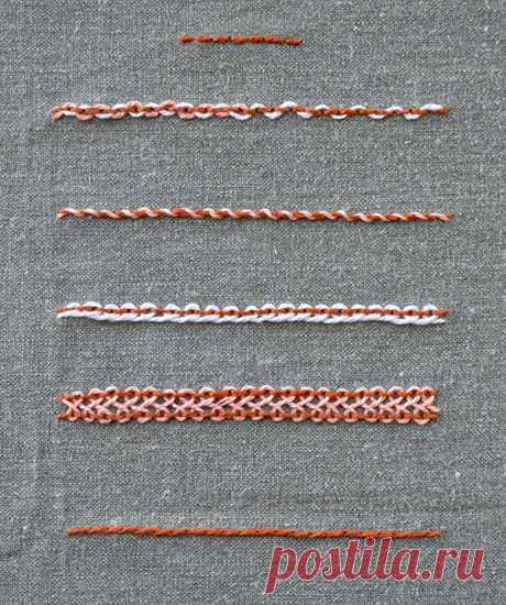 Декоративные швы — Сделай сам, идеи для творчества - DIY Ideas