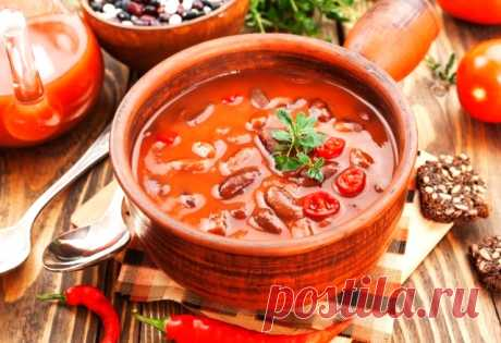 Мексиканский суп | OnlyVEG