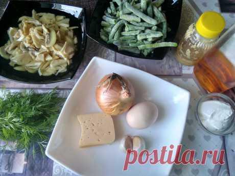 Мой почётный салат «Зелёная фасоль с блинчиками», готовлю круглый год — абсолютно беспроигрышное сочетание - Ваши любимые рецепты - медиаплатформа МирТесен