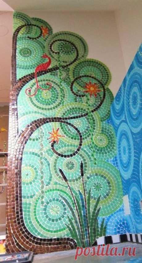 Красивые идеи мозаики