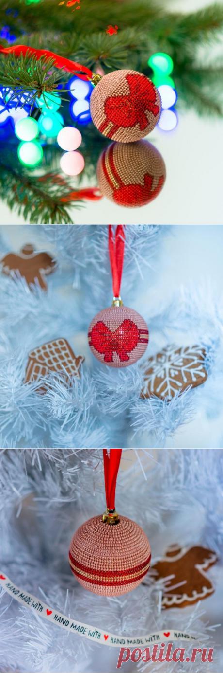 Christmas ball beading pattern DIY Christmas tree toy ornament   Etsy