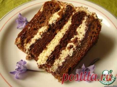 """Торт """"Птичье молоко"""" по-королевски (с кремом на манке) - вариант"""