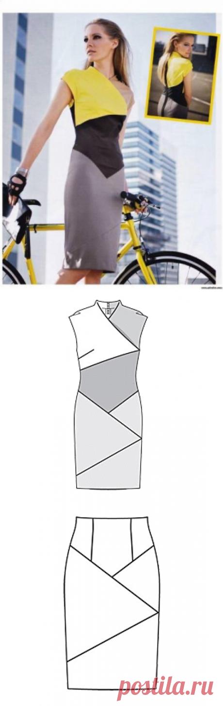 Эффектное платье / Простые выкройки / ВТОРАЯ УЛИЦА