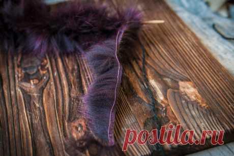 Взяла старые меховые воротники, шапки, обрезки и сделала из них пряжу! Показываю, какие необычные вещи связала в итоге | Живые вещи | Яндекс Дзен