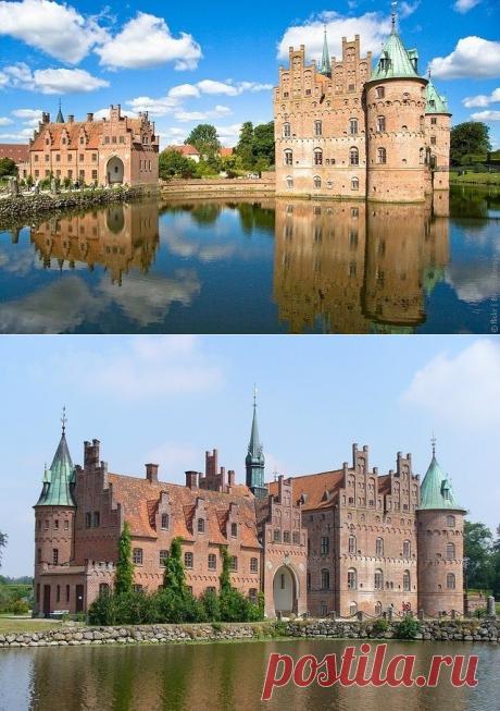 Замок Эгесков, Дания — Путешествия