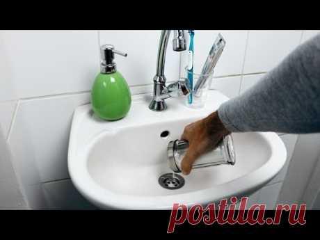 Как быстро очистить засорившуюся трубу без химикатов