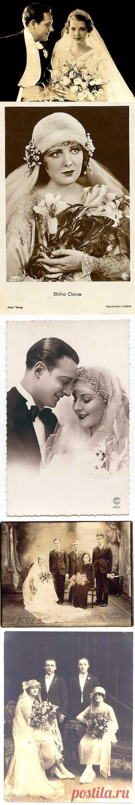 История вещей, костюма, искусства,  мебели, интерьера и быта от художника кино. - Старинные свадебные фотографии 10-20-30-х годов.