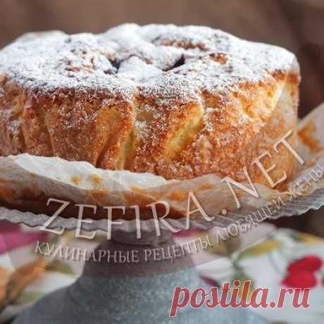 Сливовый пирог «Удачный» – Кулинарные рецепты любящей жены