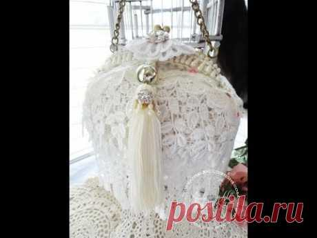 Altered Purse Shabby Chic Style Tutorial