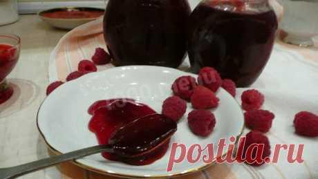 Малиновый конфитюр из малины рецепт с фото пошагово - 1000.menu