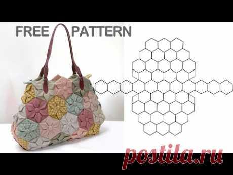Изготовление стегальных сумок, Бесплатные шаблоны стегальных сумок, Шаблоны для создания сумок
