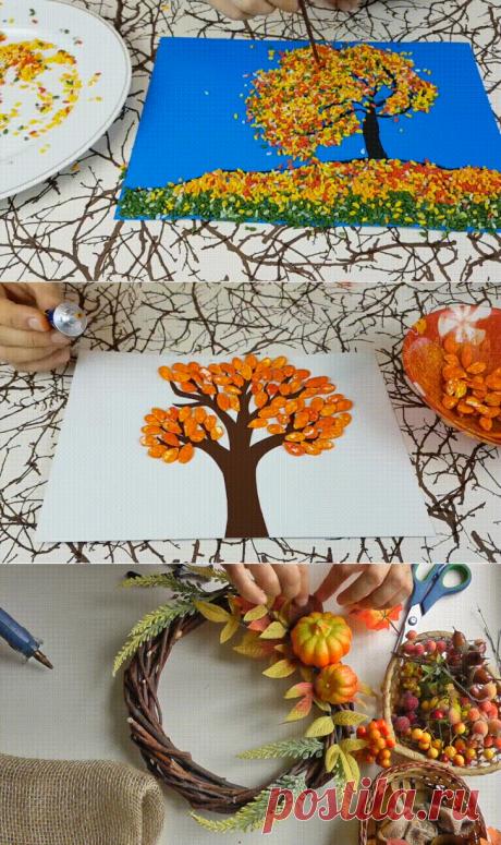 Осенние поделки: лучшие идеи в школу и садик