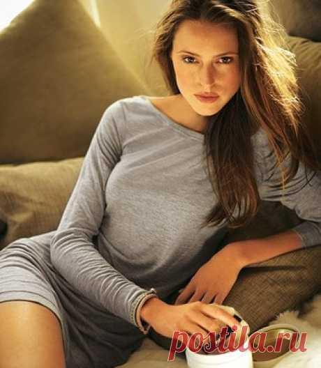 Пальто с цветными полосами - схема вязания спицами. Вяжем Пальто на Verena.ru