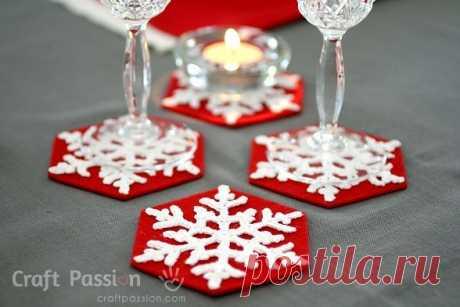 Простые вещи для новогоднего декора