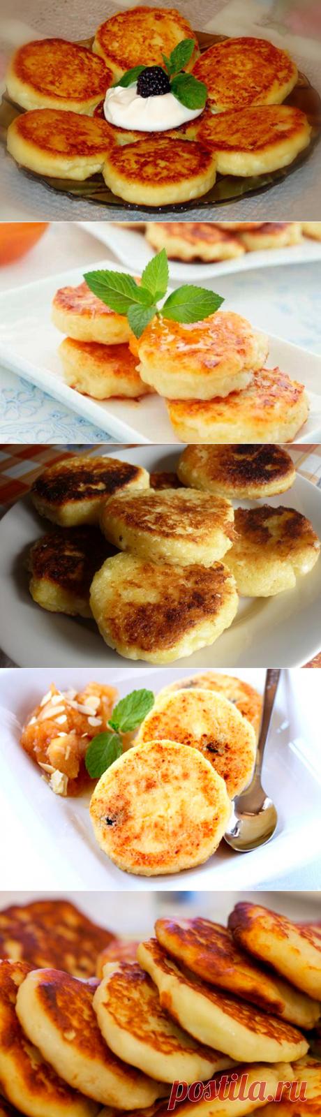 Сырники из творога - классические, с манкой, пышные, в духовке - лучшие рецепты. Как правильно приготовить сырники из творога