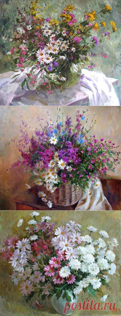 Полевые цветы Светланы Родионовой, согревающие душу