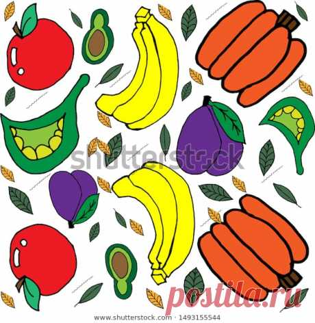 World Vegetarian Day. Thanksgiving Day. Vector Stock Illustration.