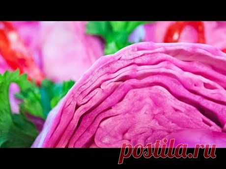 Капуста, маринованная со свеклой по-грузински «Красная» (Пелюстка - Гурийская)