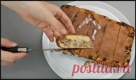 (42) Кефир + фарш - муж готовит ленивый пирог, который по вкусу как беляши, но готовить проще и быстрее! - Ваши любимые рецепты - медиаплатформа МирТесен