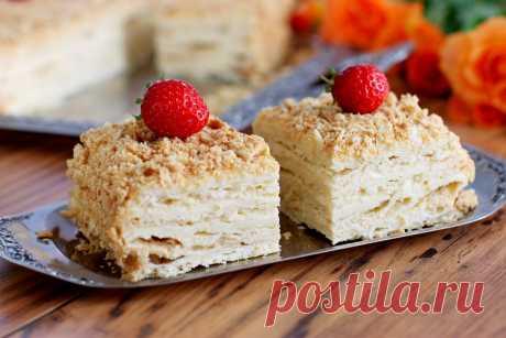 Торт Наполеон на пиве. Торт «Наполеон», наверное, один из самых любимых тортов. Несмотря на то, что его рецепт многие хозяйки считают слишком трудоемким, все равно торт «Наполеон» чаще другой выпечки украшает праздничные столы. Известно, что основой для торта «Наполеон» является слоеное тесто, а вот приготовить его можно по-разному. Один из вариантов – слоеное тесто на пиве. Такое тесто легко […] Читай дальше на сайте. Жми подробнее ➡