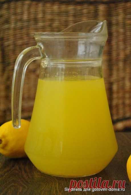 Лимонад из замороженных цитрусовых • Напитки