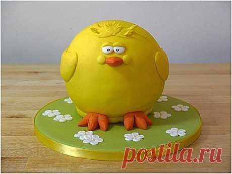 """Торт """"Цыпленок"""". Мастер-класс   Домохозяйка"""