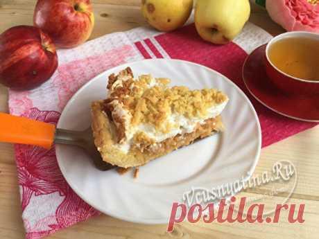Очень вкусный яблочный пирог «Мечта» — не раздумывайте, возьмите и приготовьте свою «Мечту»!
