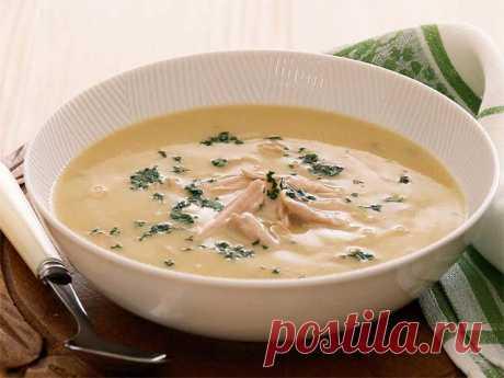 Грибной суп с плавленным сыром — вкусный пошаговый рецепт