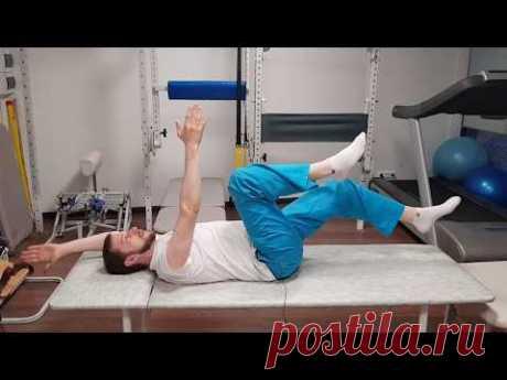 Упражнения при болях в тазобедренном суставе