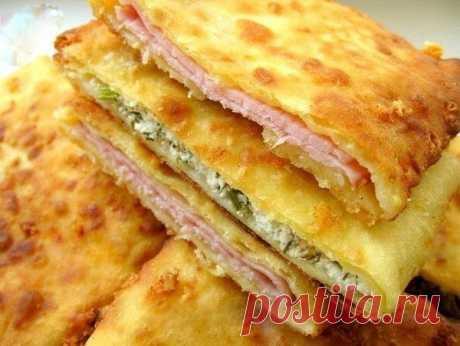 Супер-идея для завтрака: сырные лепешки на кефире!