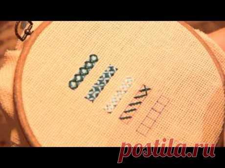Вышивка крестом - Рисовый шов. Мои советы