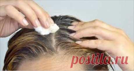 Просто нанесите это на пробел и все белые волосы станут снова черными | Женские темы
