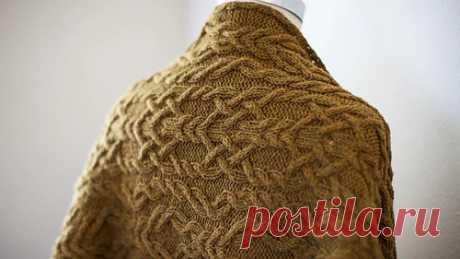 Ravelry: Holmes Wrap pattern by Michele Wang