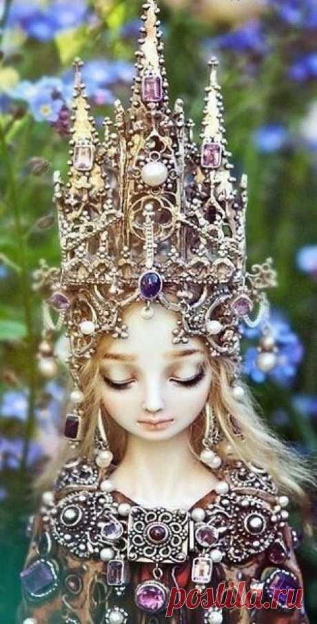 """""""Живые Куклы"""" Марины Бычковой 😍 Они потрясающие, согласны? Любая девочка была бы рада такому подарку 💕"""