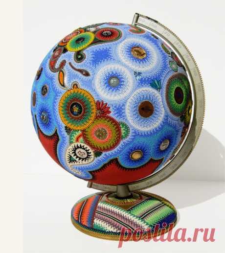 Jan Huling из бисера создает произведения искусства